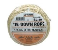 Where to rent UHAUL SISAL TIE DOWN ROPE in Colville WA